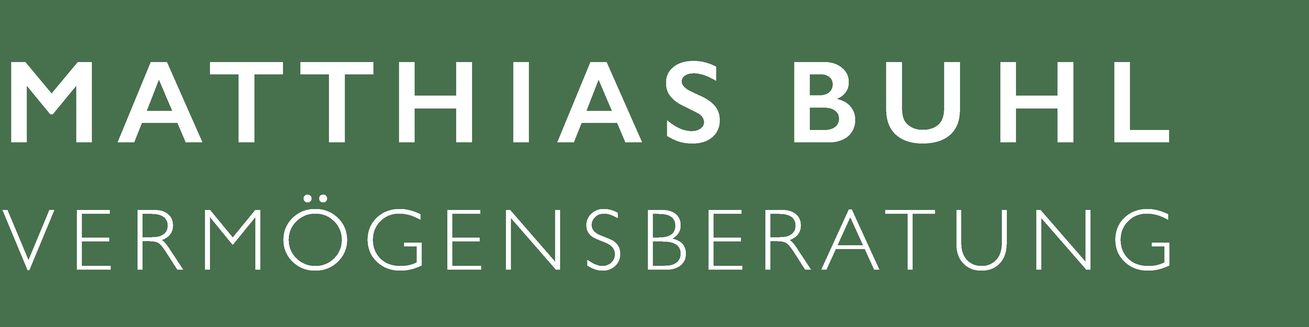 MATTHIAS BUHL - VERMÖGENSBERATUNG